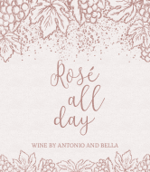 Expressions Wine Label - Rosé All Day