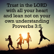 Sticker - Proverbs 3 Trust In The LORD