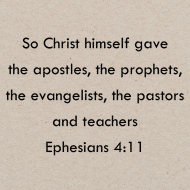 Sticker - Ephesians 4 So Christ Himself Gave