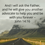 Sticker - John 14 And I Will Ask The Father