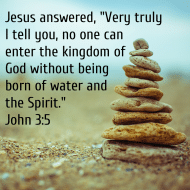 Sticker - John 3 Jesus Answered