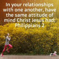 Sticker - Philippians 2 In Your Relationships With