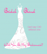 Wedding Wine Label - Bridal Blend