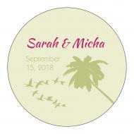 Wedding Sticker - Destination Wedding