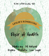 Cider Label - Kombucha Raw