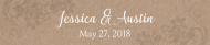 Wedding Water Bottle Label - Kraft Paper Water