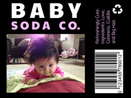 Baby Soda Label - Baby