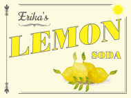 Expressions Soda Label - Lemon Soda