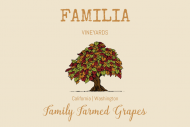 Expressions Mini Wine Label - Mixed Leaves