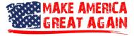 Bumper Sticker - Make America Great Again
