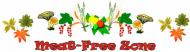 Bumper Sticker - Meat Free Zone