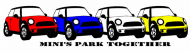 Bumper Sticker - Minis Park Together