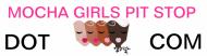Bumper Sticker - Mocha Girls Pit Stop