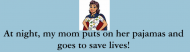 Bumper Sticker - Mom Is A Nurse Super Hero