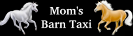 Bumper Sticker - Moms Barn Taxi
