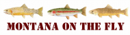 Bumper Sticker - Montana Fly Fishing