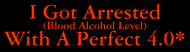 Bumper Sticker - My Alcohol