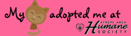 Bumper Sticker - My Cat Adopted Me