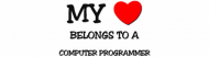 Bumper Sticker - My Heart Belongs To A Chartered