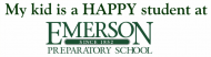 Bumper Sticker - My Kid Is A Happy Student At Emerson Prep