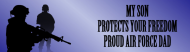 Bumper Sticker - My Son Protects