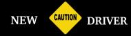 Bumper Sticker - New Driver Warning