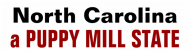 Bumper Sticker - North Carolina Anti Puppy Mill