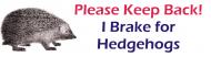 Bumper Sticker - Please Keep Back