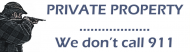 Bumper Sticker - Private Property