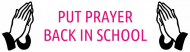 Bumper Sticker - Put Prayer Back In School