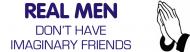 Bumper Sticker - Real Men Dont Have