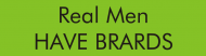 Bumper Sticker - Real Men Have Brards