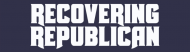Bumper Sticker - Recovering Republican