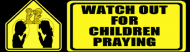 Bumper Sticker - Watch Out For Children
