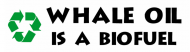 Bumper Sticker - Whale Oil Is A