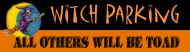 Bumper Sticker - Witch Parking