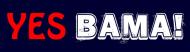 Bumper Sticker - Yes Bama