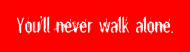 Bumper Sticker - You Never Walk