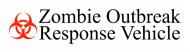Bumper Sticker - Zombie Outbreak