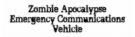 Bumper Sticker - Zomble Apocalypse
