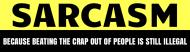 Expressions Bumper Sticker - Sarcasm