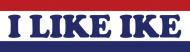 Bumper Sticker - 1952 Eisenhower