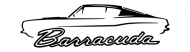 Bumper Sticker - 1967 69 Plymouth Barracuda Muscle Car Design