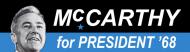 Bumper Sticker - 1968 Gene Mccarthy For President