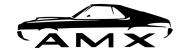 Bumper Sticker - 1970 Amc Amx Muscle Car Design