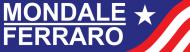 Bumper Sticker - 1984 Mondale Ferraro Campaign