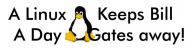 Bumper Sticker - A Linux A Day