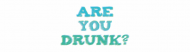 Bumper Sticker - Are You Drunk