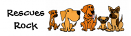 Bumper Sticker - Af Funny Rescue Dogs Group Cartoon