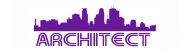 Bumper Sticker - Architect Skyline Design